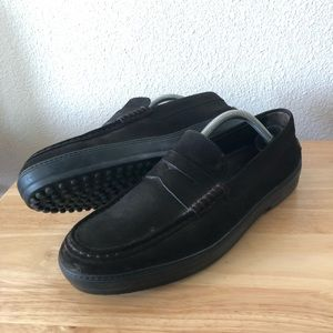 TODs Penny Slip On High Bottom Sole Driver